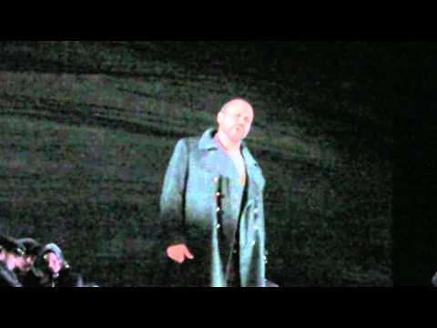 "Roman Shulackoff As Macduff In Verdi's Macbeth, ""Ah, La Paterna Mano.."""