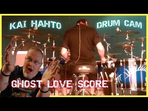 Kai Hahto NIGHTWISH - Ghost Love Score Drum Cam (REACTION) Finland  Awesome European Drummer