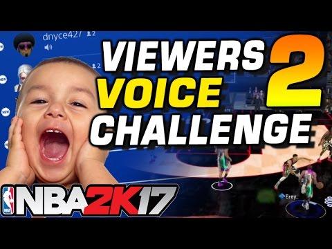 NBA 2K17 VIEWERS VOICE CHALLENGE 2