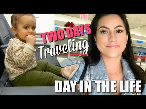 two-days-of-traveling-with-a-toddler-|-exciting-news!-|-ditl-vlog