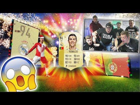 🔥 EKIPA TRAFIA RONALDO W DARMOWEJ PACZCE!!! 🔥 #EkipaFantasy #FantasyPomaga FIFA 18