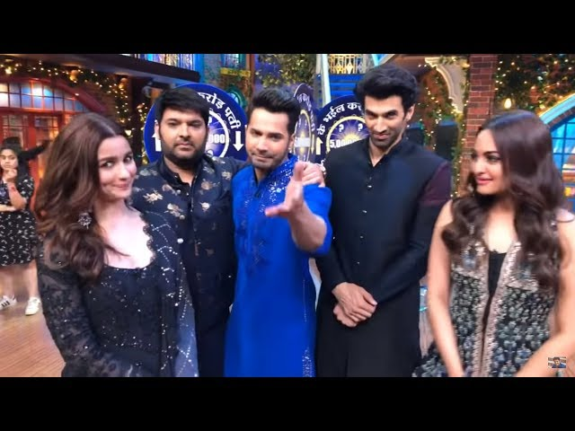 The Kapil Sharma Show: Alia, Varun, Aditya, Sonakshi have