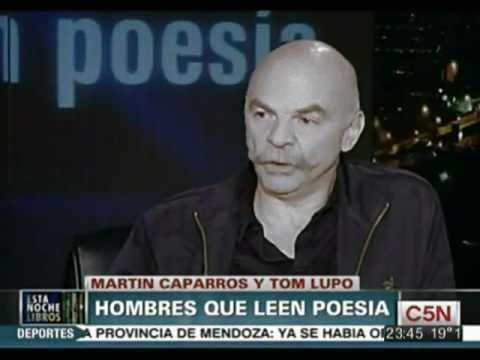 Hombres que Leen Poesía con Martín Caparrós y Tom Lupo
