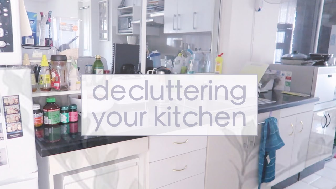 Declutter Your Kitchen ☁ DAY 9 | Simplify Your Life Challenge