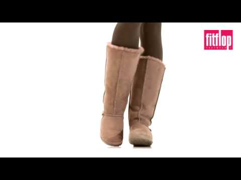 FitFlop - Mukluk Tall Boot - Smoke Grey