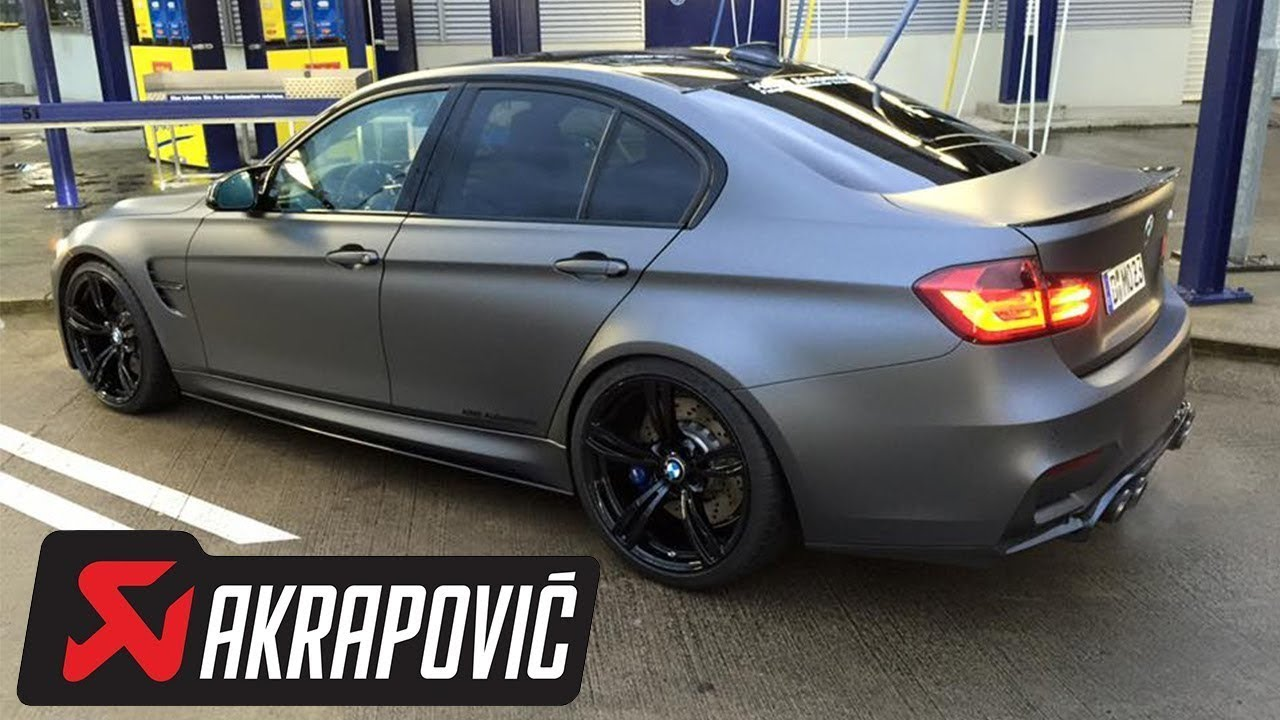 Bmw m3 gts with akrapovic exhaust vs. E92 m3 stock with manual.