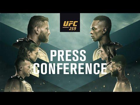 UFC 259: Pre-fight Press Conference