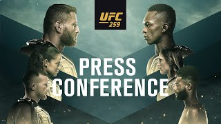 UFC 259: Pre-fight Press Conference
