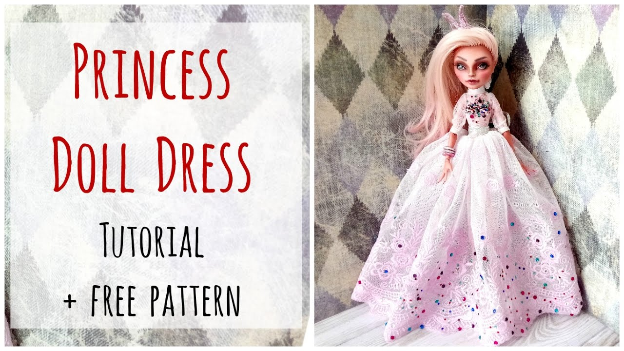 free monster high doll clothes patterns