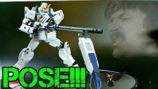 Gambar cover Posing Gunpla: HGUC 1/144 Gundam Ground Type