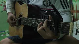 Chỉ vì anh quá yêu em ( guitar solo) Finger Style - The Men