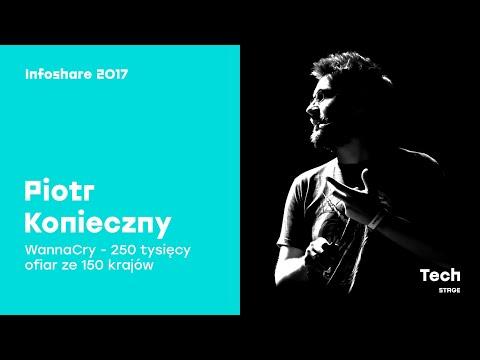 Piotr Konieczny (niebezpiecznik.pl): WannaCry - 250 tysięcy ofiar ze 150 krajów / infoShare 2017