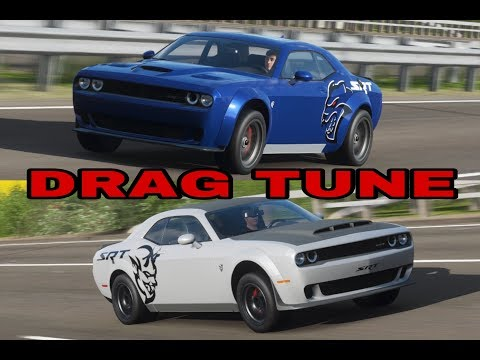 HELLCAT VS DEMON (DRAG TUNE ) - FORZA HORIZON 4 thumbnail