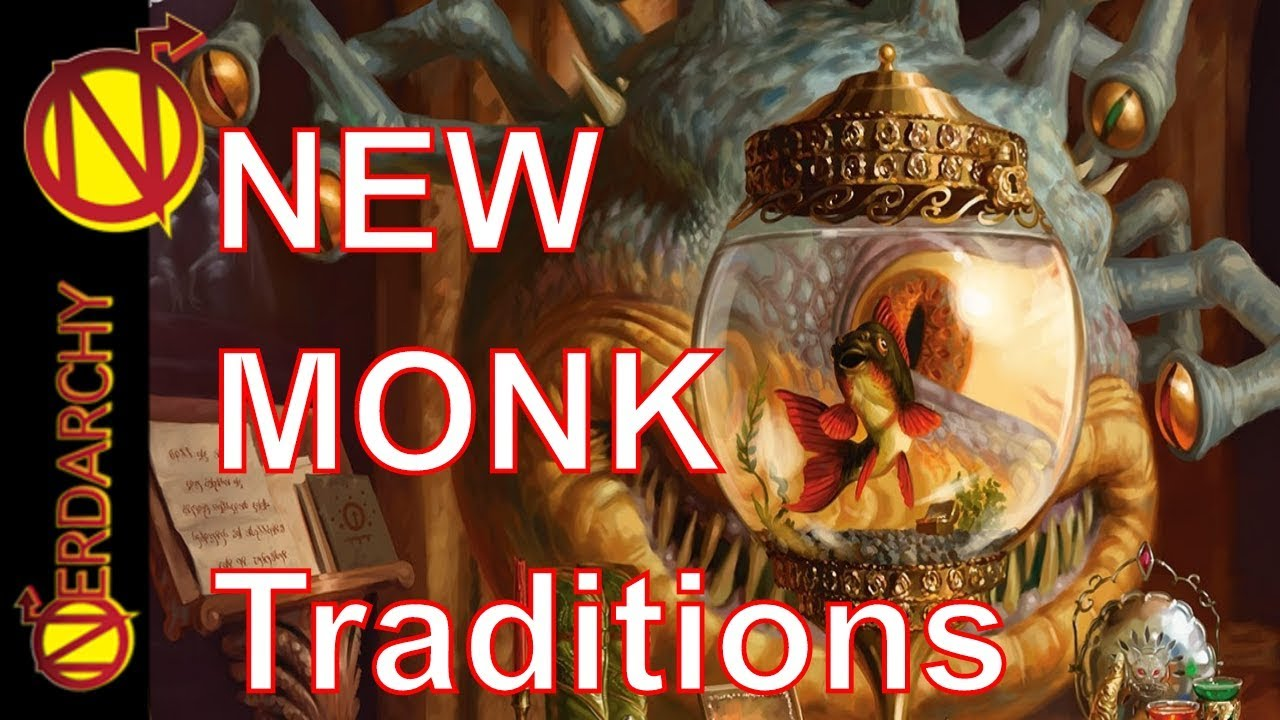 NEW Monk Monastic Traditions- Xanathar's Guide to Everything for 5E D&D