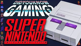 Super Nintendo (SNES) - Did You Know Gaming? Feat. ProJared by : DidYouKnowGaming?