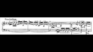 J.S. Bach - BWV 870a - Praeludium C-dur / C major