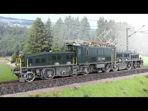 Unboxing/Review Märklin-Krokodil 55681 – Ce 6/8 III – SBB 14305 – 1:32/Spur 1 – Lokmodell für 3500 €