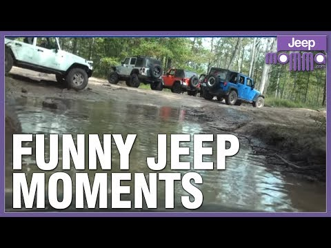 Funny Moments Jeep Off Roading at Rausch Creek Part 1