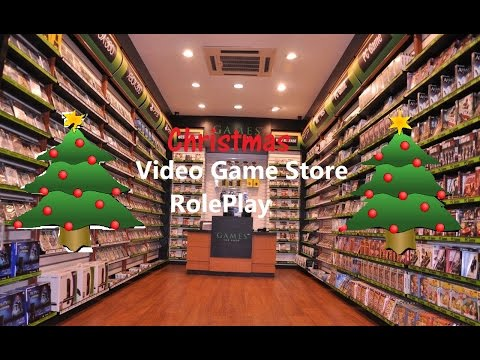 ASMR/Whisper: Christmas Video Game Store Role-Play (Give-away) (CLOSED)