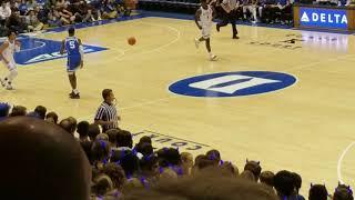 Duke Blue Devils 10-19-18 Countdown to Craziness clip 2... Zion Williamson dunks!