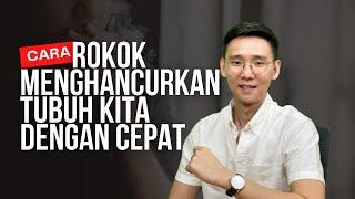 Akibat merokok, paru-paru pria ini kempes dan dipasangi selang - TomoNews.