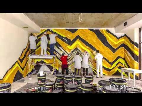 Особливі інтер єри visart decor deco terra Стіна в готелі