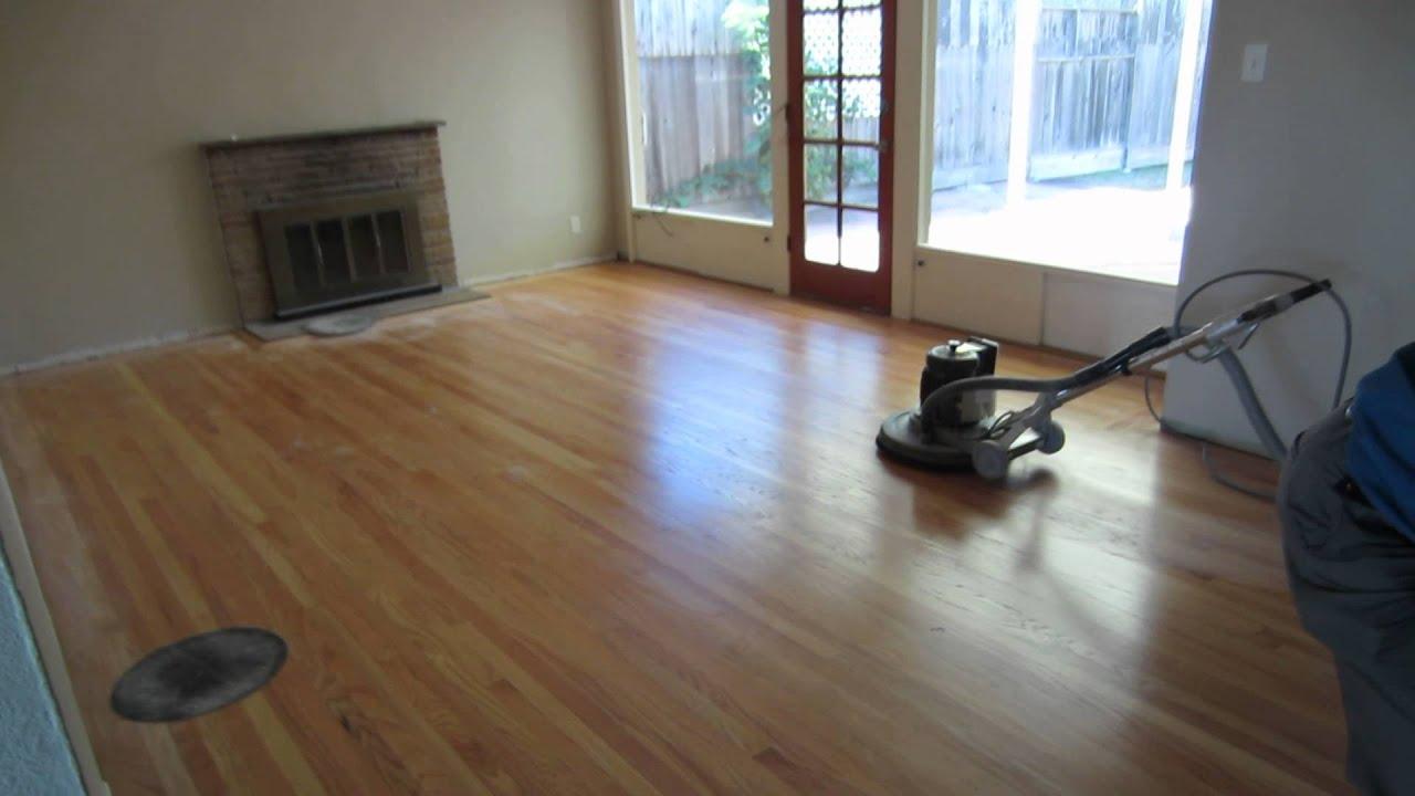 hardwood floor buffing machine