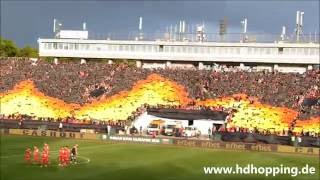 Bulgarisches Pokalfinale - CSKA Sofia Choreo, Pyro & Support