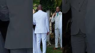 Paul Gibson echoing Wayne's heart for his bride Amanda