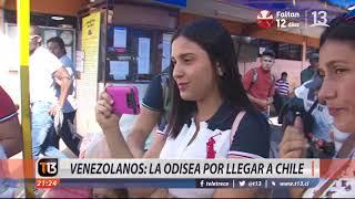 Venezolanos: La odisea por llegar a Chile