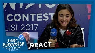 JUNIOR EUROVISION REACTS TO THE EUROVISION SONG CONTEST!