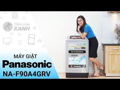 Máy giặt Panasonic 9 kg NA-F90A4GRV: mạnh mẽ trong từng chi tiết • Điện máy XANH