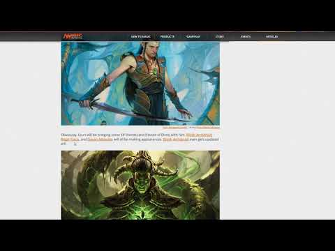 Speculating on upcomming Masters 25 and Duel Deck Elves vs Inventors