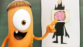 Spookiz | Beauty or Brains | Funny Cartoons For Kids | WildBrain Cartoons