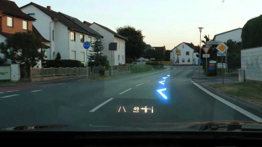 Continental S Prototype 2017 Ar Head Up Display Showing