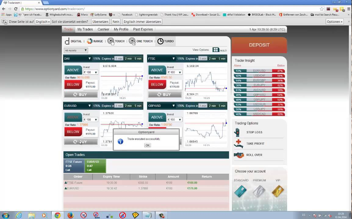 Binary options crack