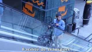tilt-e, le vélo electrique urbain par le shop cycle de decathlon odysseum