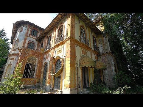 Abandoned $10 Million Dollar Italian Mansion