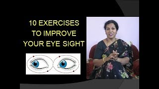 10 EXERCISES FOR POWERFUL EYES