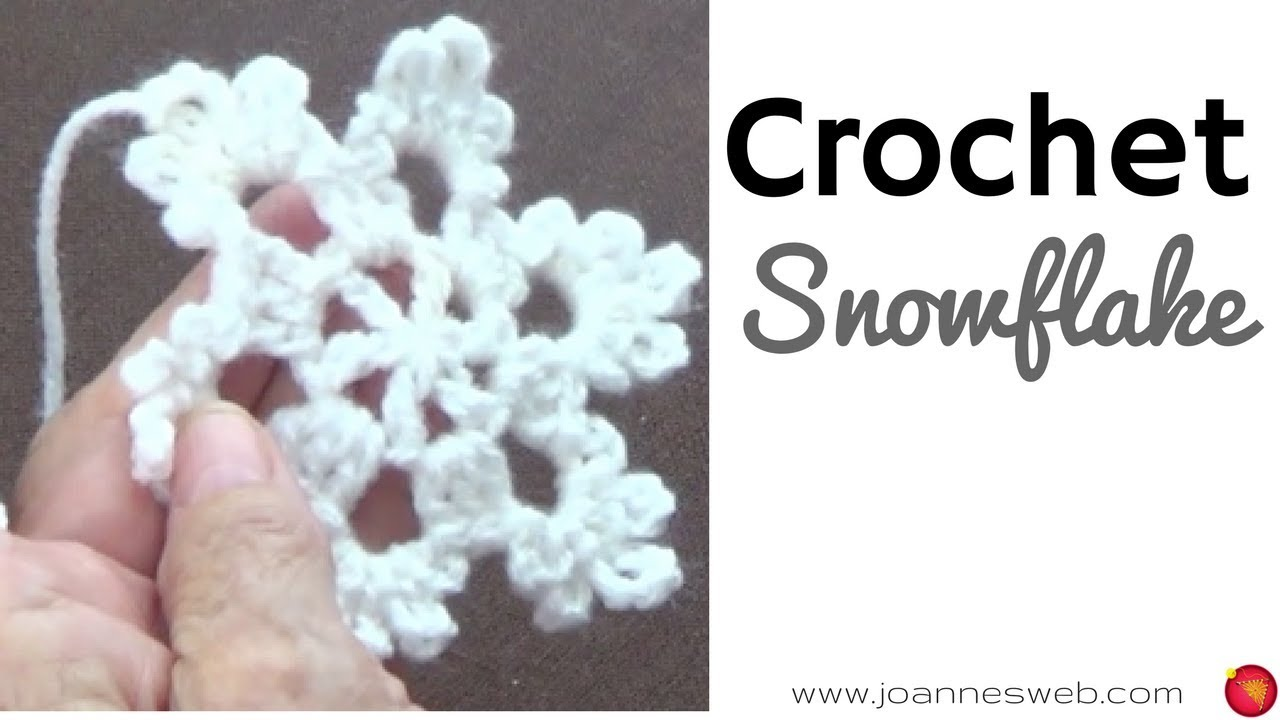 Crochet Snowflake -Ornaments - Holiday DIY - Home Decor - YouTube