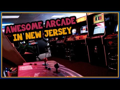 """AWESOME ARCADE IN NEW JERSEY"" - Yestercades Vlog (ft. Brandon & Matt)"