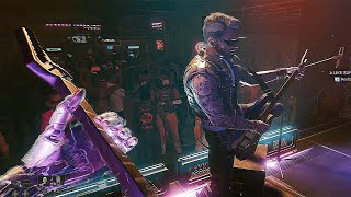 Cyberpunk 2077 - Johnny Reunites Samurai and Plays a Final Gig [4K UHD]