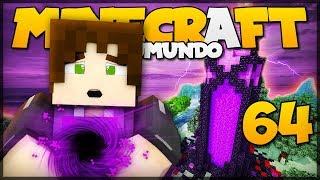 SUPER PORTAL DO NETHER! // Meu Mundo #64 // Minecraft