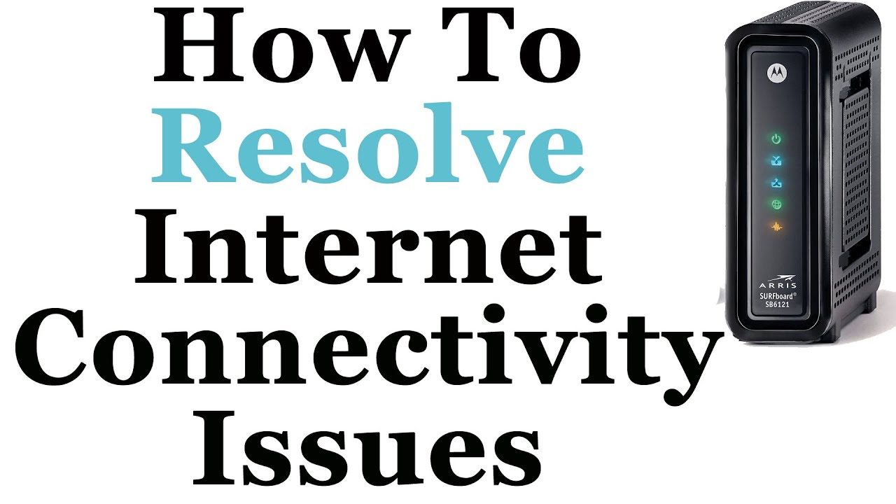 How To Troubleshoot Internet Connection Problems - YouTube