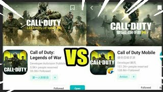 COD: Legends of War vs. COD: Mobile |  Gameplay Trailer Comparison 2019 Cod mobile Android