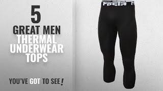 Top 10 Mens Thermal Underwear Tops [ Winter 2018 ]: TM-YUC32-BLK_Medium Tesla Men's Thermal