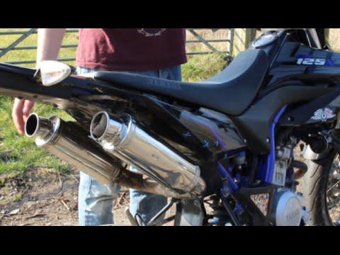Yamaha WR125x - ARROW VS TWIN EXHAUST