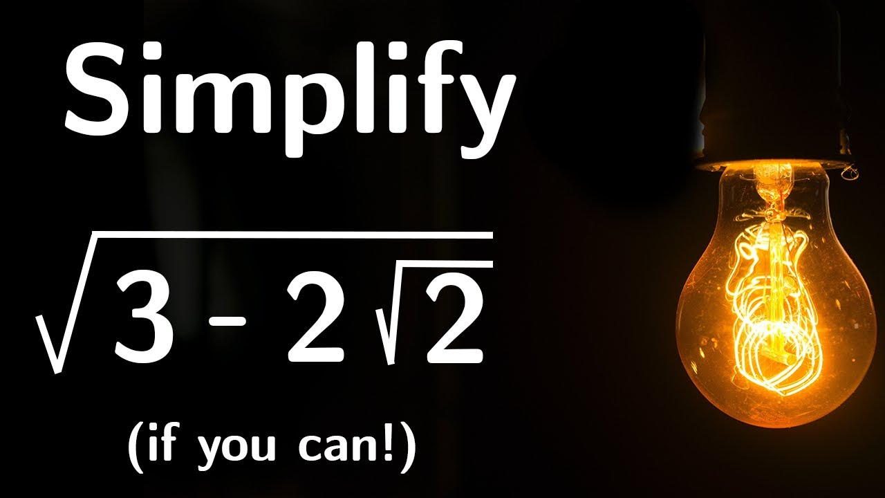 Can you simplify this maths expression? Maths Puzzle.