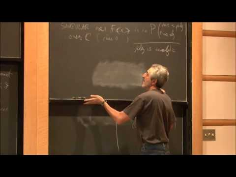 The singularity of symbolic matrices - Avi Wigderson