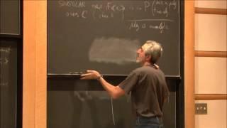 The singularity of symbolic matrices - Avi Wigderson